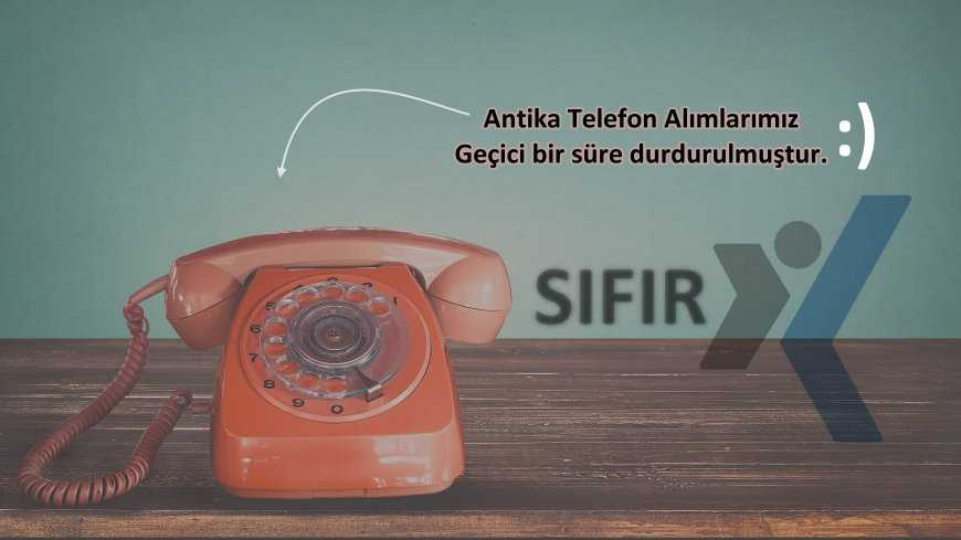 Antika Telefon Alan Yerler