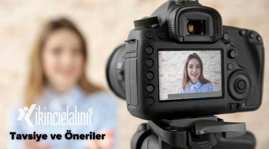 Youtuberlar için Kamera Önerileri